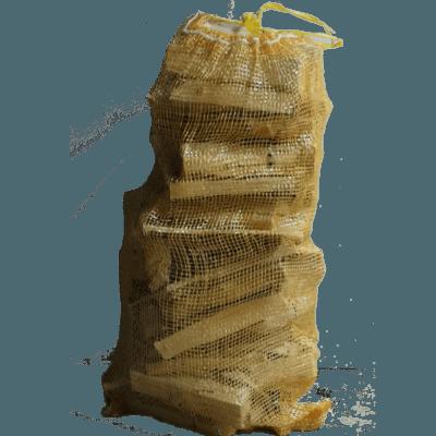 large bag of kindling for starting fires